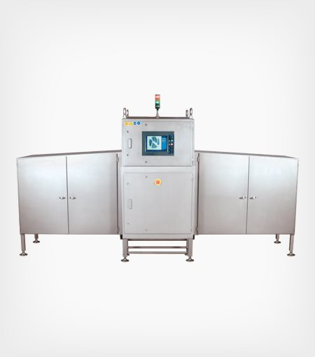 Eagle QuadView X-ray system for tall rigid containers