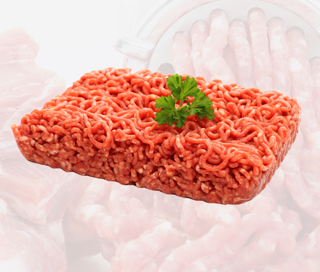 Fat analysis and x-ray inspection of ground products for the red meat industry